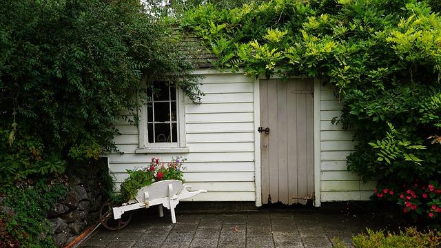 Gartenhaus weiss